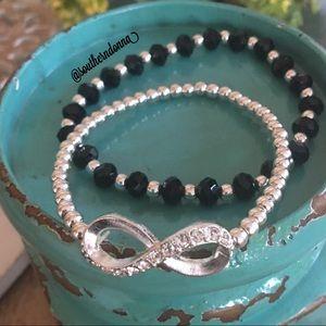 💕Stretch Beaded Bracelet Set/2